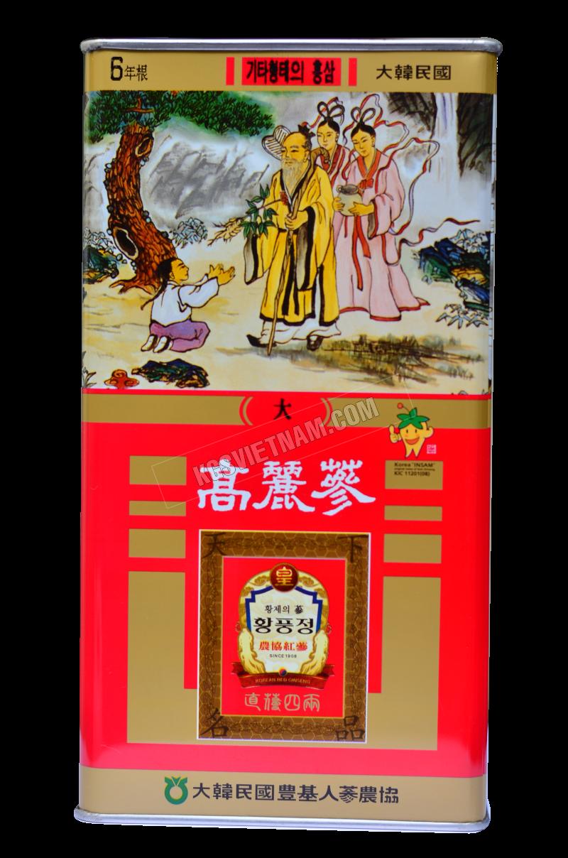 Sâm củ khô PUNGGI Hàn Quốc 150g (Củ Lớn)củ khô PUNGGI Hàn Quốc 300g (Củ Lớn)