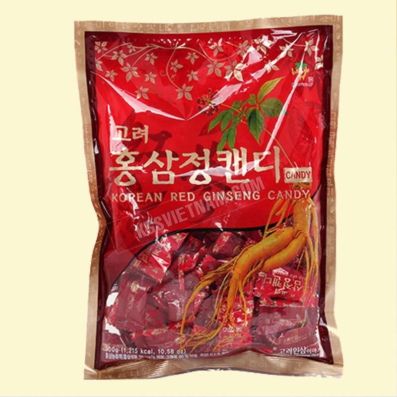 Kẹo hồng sâm KGS Hàn Quốc 300ghồng sâm túi xách KGS Hàn Quốc 550g