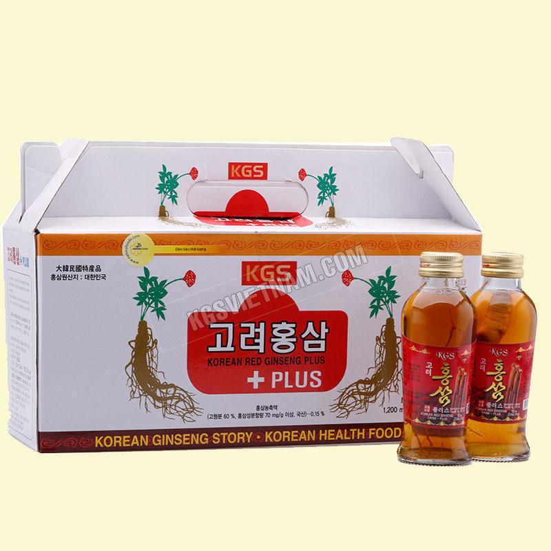 Nước Hồng sâm có củ KGS Hàn Quốc 1200mlxuất hồng sâm Bi KGS Hàn Quốc 750ml