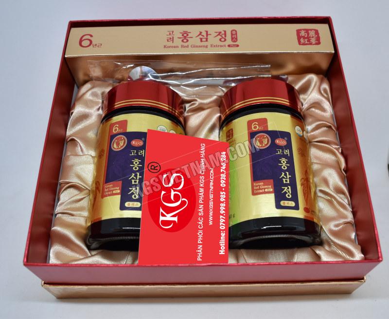 chi tiết về sản phẩm quà biếu sức khỏe hồng sâm kgs 480g