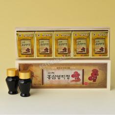 Cao hồng sâm linh chi hộp gỗ KGS Hàn Quốc 150g