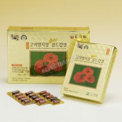 Viên linh chi hộp giấy KGS Hàn Quốc 830mg x 120 viên