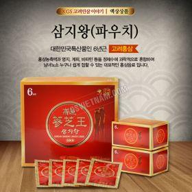 Nước hồng sâm linh chi KGS Hàn Quốc 60 gói