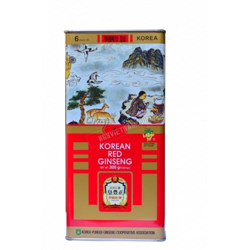 Sâm củ khô PUNGGI Hàn Quốc 300g (Củ Lớn)
