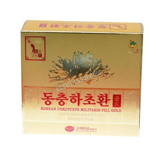 Viên đông trùng hạ thảo KGS Hàn Quốc 100g x 2 lọ