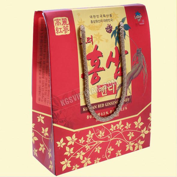 Kẹo hồng sâm túi xách KGS Hàn Quốc 550g