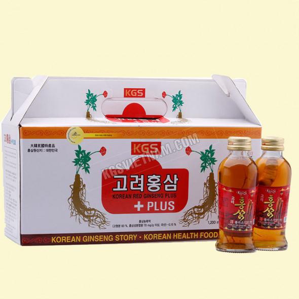Nước Hồng sâm có củ KGS Hàn Quốc 1200ml